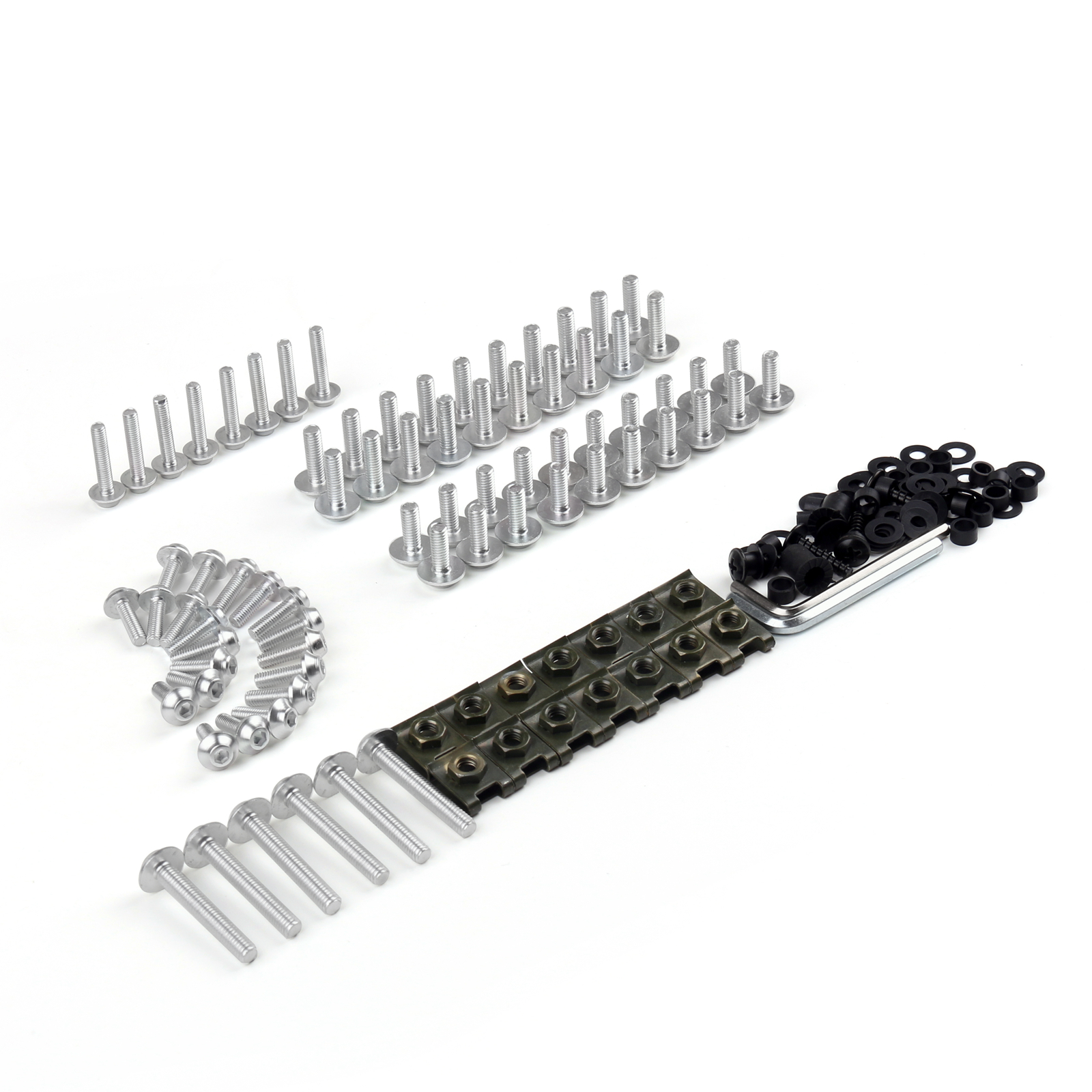 New Carenage Boulons Vis Fixations Kit Spike Bolts Pour
