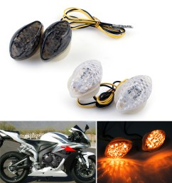 details about bright flush mount turn signals for honda cbr600 1000rr f4 i cbr900 929 954 ue [ 1271 x 1348 Pixel ]