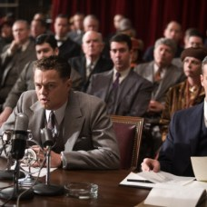 "(L-r) LEONARDO DiCAPRIO as J. Edgar Hoover and ARMIE HAMMER as Clyde Tolson in Warner Bros. Pictures' drama €œ""J. EDGAR"",€ a Warner Bros. Pictures release."