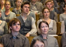 ANSEL ELGORT and SHAILENE WOODLEY star in DIVERGENT