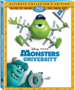 Monsters University Blu-Ray Cover