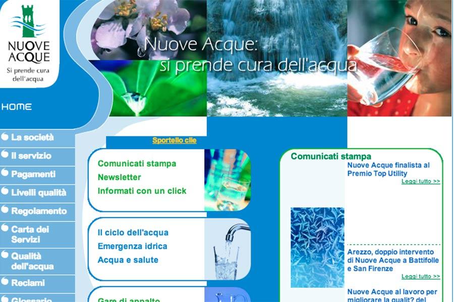 Nuove Acque: tecnici al lavoro nel comune di Arezzo mercoledì 22 maggio