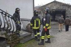 Vigili del Fuoco, incendio abitazione Monterchi