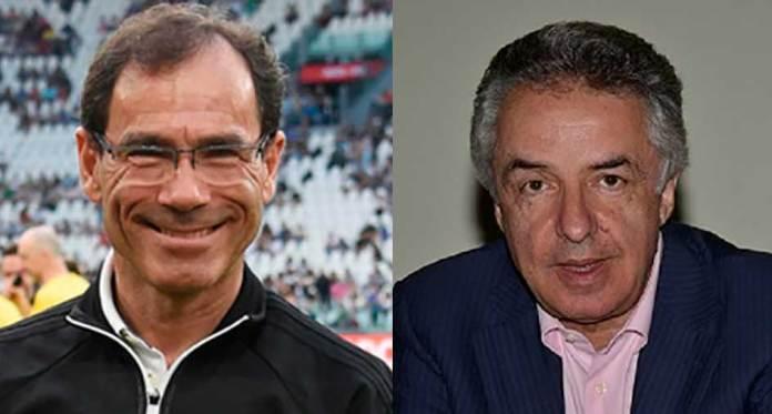 Davide Cassani e Beppe Conti