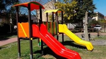 Giochi al parco di Villa Lovari - Castiglion Fiorentino