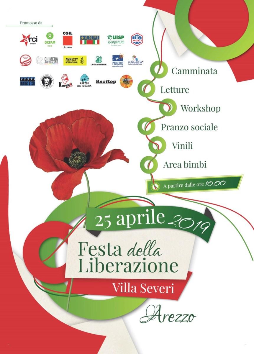 Il Programma delle celebrazioni del 25 aprile nella città di Arezzo