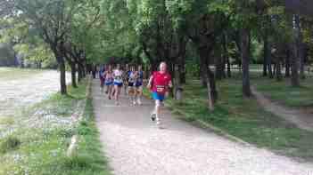 Fase di Corsa in mezzo al Parco