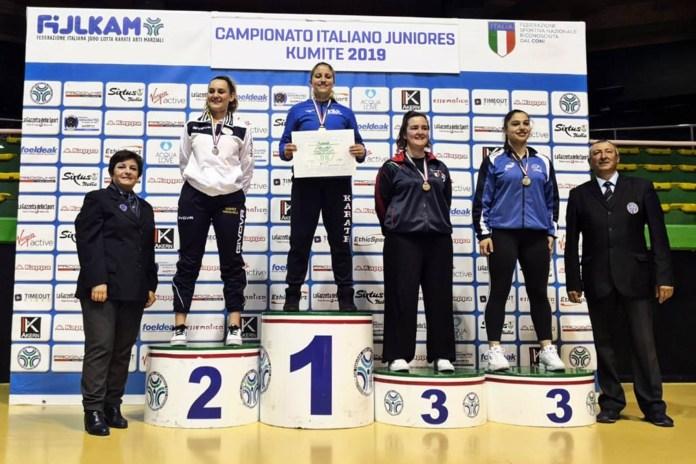 Accademia Karate Casentino - Podio Elisa Liguri (1)