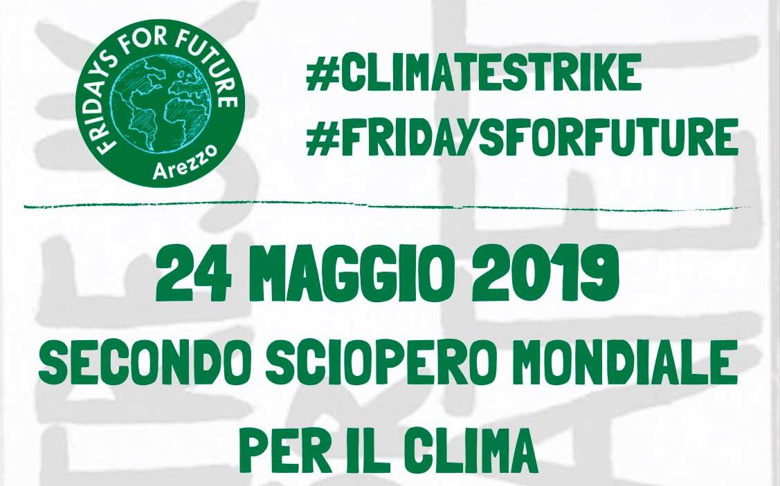 Anche Arezzo sciopera per un futuro sostenibile