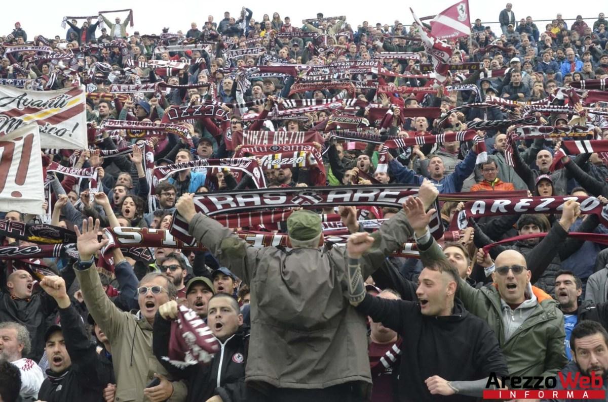 Diretto di prelazione sull'acquisto del biglietto Arezzo-Pisa per chi ha l'abbonamento, la società ha preso in esame la vicenda