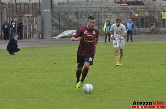 Viterbese-Arezzo 0-2 - Belloni e Pelagatti portano l'Arezzo semifinale