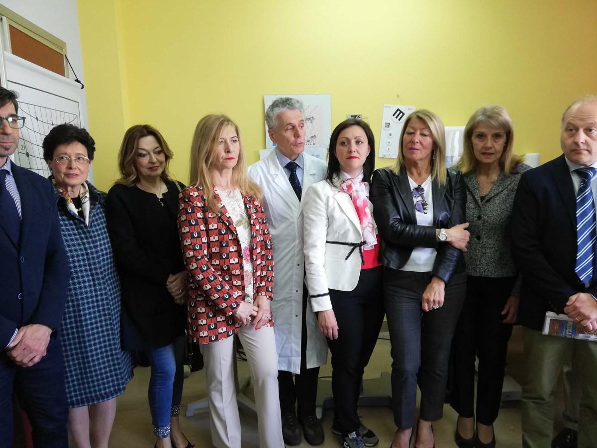 Un nuovo alleato contro l'ambliopia, la donazione all'Oculistica del San Donato