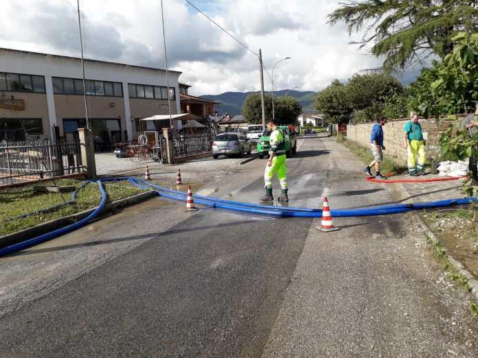 Tutti i lavori post-alluvione in provincia di Arezzo: sette cantieri all'opera