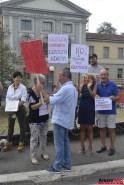 Sit-in davanti al Tribunale di Arezzo 04