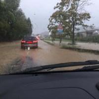 Forti piogge nell'aretino, a San Zeno allegate numerose strade