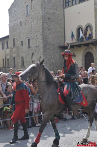 139ma Giostra del Saracino - Sfilata - 013