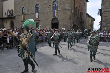 139ma Giostra del Saracino - Sfilata - 016