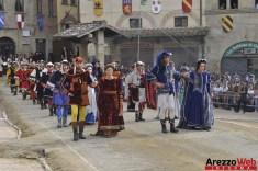 139ma Giostra del Saracino - Sfilata - 052
