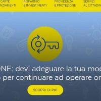 Problemi sul sito e la app di Poste Italiane