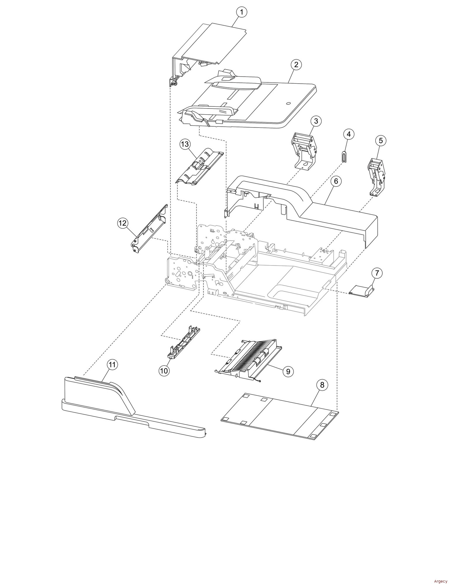 IBM Infoprint 1850 1860 1870 1880 MFP Parts (4548, 4566
