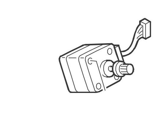 57P3506 Stepper Motor (FinB-M9- FinB Stapler Movement