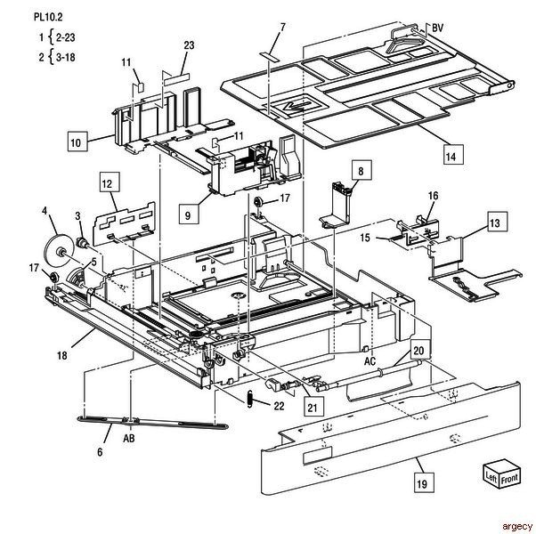 Dell 1135 Mfp Printer Parts