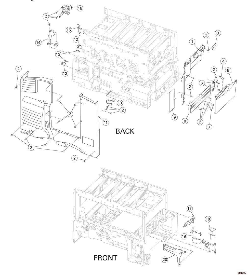 Lexmark-Printer: Parts for Printers, MFPs, and Scanners