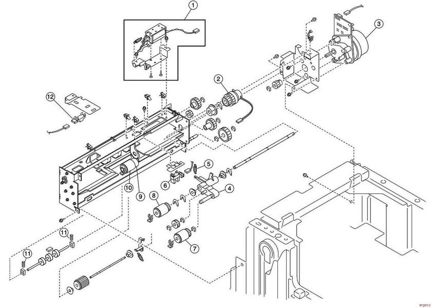 Lexmark t650 parts manual