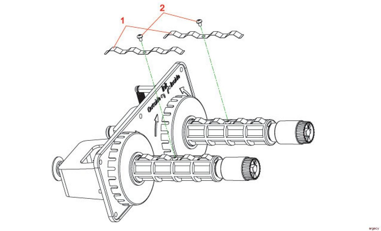 Tharo H434 Amp H436 Parts