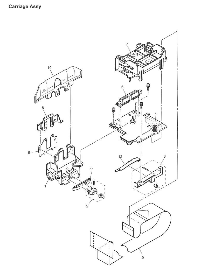 Oki ML320 & ML321 Turbo Parts (For Rev