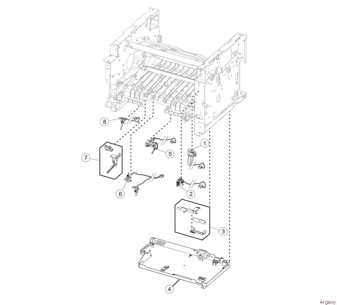 Lexmark MX310 MX410 MX510 MX511 XM1145 XM3150 MFP Parts