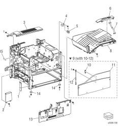 5500 printer part diagram [ 1318 x 1200 Pixel ]