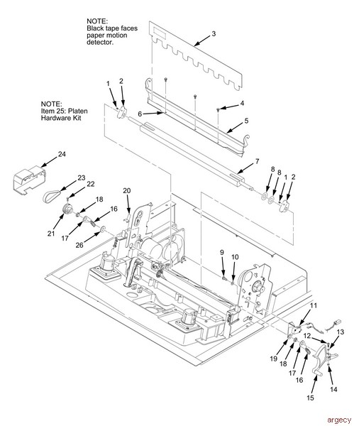 Argecy: Parts for Printers, MFPs, and Scanners