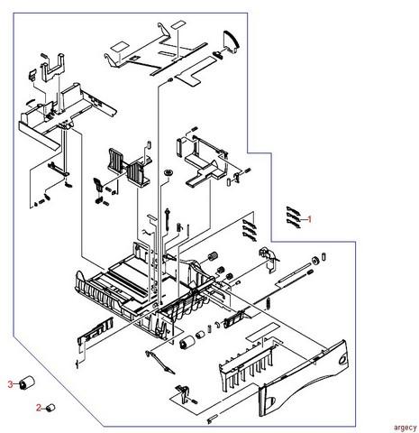 Hp Laserjet P3015 Parts Manual