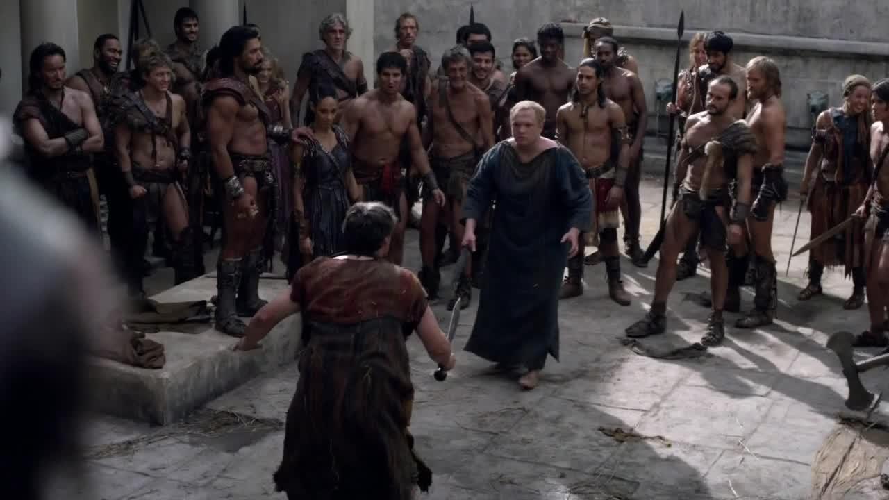 aRGENTeaM  Spartacus S03E03  Men of Honor