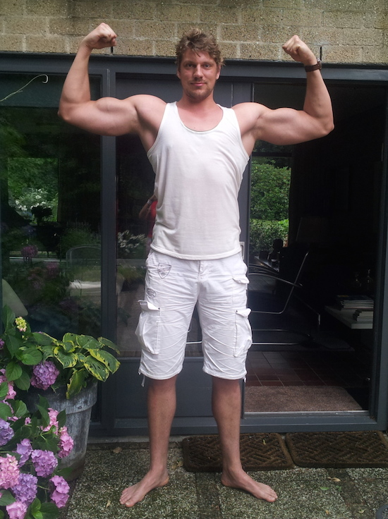 Olivier Richters, Dutch bodybuilder (219cm)