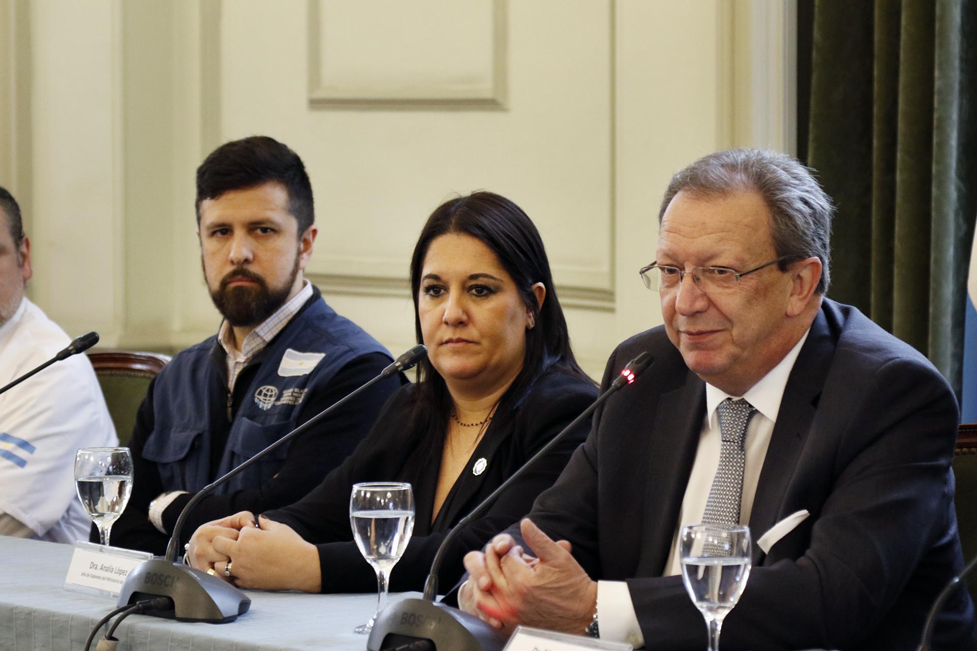 Analía Lopez, jefa de Gabinete