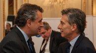 Luis Etchevehere y Mauricio Macri