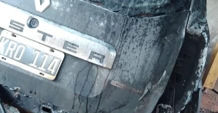Jorge Bondar Vehiculo que prendieron fuego3