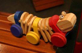 40 Niños Juguetes de Madera