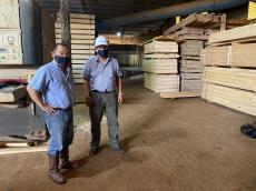 Visita a Industrias Pymes de la Region (APICOFOM)
