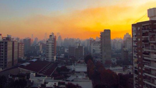 humo en la ciudad de Rosario 3