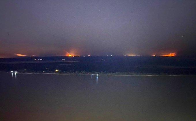 humo en la ciudad de Rosario