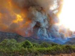 Incendio Forestal en El Maiten 1