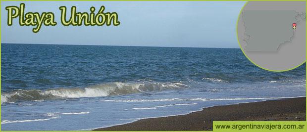 PLAYA UNIN  Gua de Turismo de Playa Unin  Avistaje de Toninas Overas  Chubut