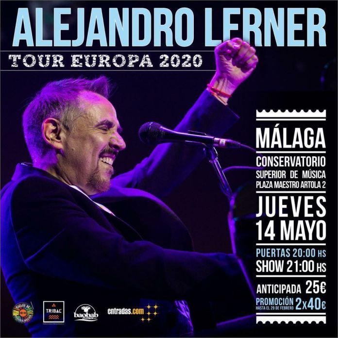 Alejandro Lerner Málaga 2020 - Juntos para siempre