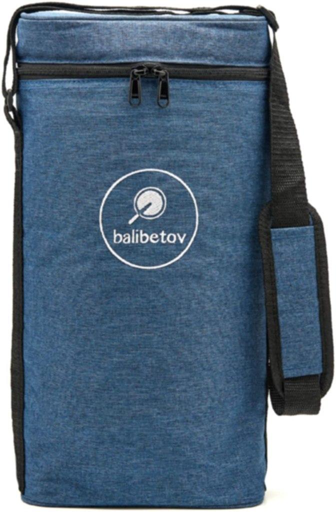 BALIBETOV Bolso Matero para Calabaza Yerba Mate y Termo I Bolsa de Transporte con Aislamiento Práctica Moderna para Hombres, Mujeres en el Trabajo, al Aire libre, Viajes, Picnic (Azul)