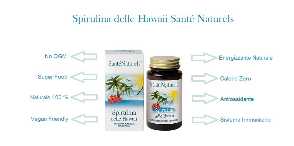 La spirulina serve ad aumentare l'energia e la resistenza, ricca di minerali, vitamine e proteine. Proprietà Antiossidanti, rafforza il sistema immunitario
