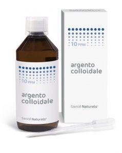 Argento Colloidale gocce 10 ppm 500 ml