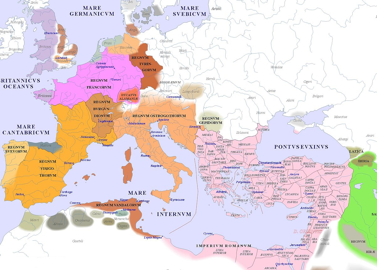 Image result for 500 ad europe